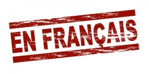 en francais